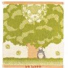 Hand Towel - Organic Cotton - Embroidery - Totoro & Nekobus & Kurosuke - Ghibli - 2010 (new)