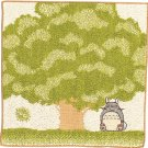Mini Towel - Organic Cotton - Embroidery - Totoro & Kurosuke - Ghibli - 2010 (new)