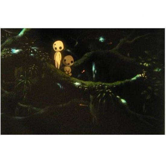 SOLD - Movie Film #10 - 6 frames - Kodama - Mononoke - Ghibli - RARE (real film)