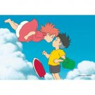 150 pieces Mini Jigsaw Puzzle - Ponyo & Sousuke - Ghibli - Ensky - 2010 - no production (new)