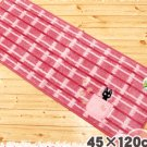 Rug Mat - 45x120cm - Jiji Embroidered - pink - Kiki&#39;s Delivery Service - Ghibli - 2009 (new)