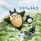 3 Mini Magnet - Totoro & Chu & Sho & Kurosuke - Ghibli - 2010 (new)