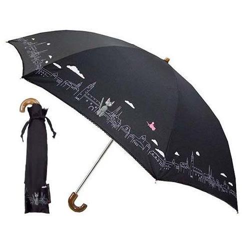 Folding Umbrella & Case - black - Town - Kiki's Delivery Service - Sun Arrow - no production (new)