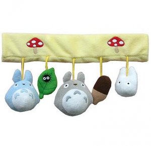 Rattle for Baby Car - Mascot - Totoro & Chu & Sho & Kurosuke - Ghibli - 2010 (new)