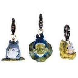 1 left - 3 Hook - Leaf - Totoro & Chu & Sho & Kurosuke - Ghibli - no production (new)