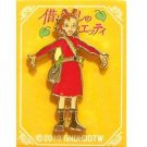Pin Badge - Arrietty #3 - Karigurashi no Arrietty / The Borrower Arrietty - 2010 (new)