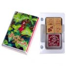 4 Rubber Stamping & Ink Pad in Case - Karigurashi no Arrietty / The Borrower Arrietty - 2010 (new)