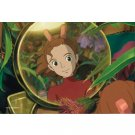 150 pieces Mini Jigsaw Puzzle - Mirror - Arrietty - Ghibli - ensky - made in Japan - 2010 (new)