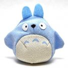 Beanbags / Otedama - Japanese Chirimen / Crape - light blue - Chu Totoro - Ghibli - 2010 (new)