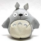 Beanbags / Otedama - Japanese Chirimen / Crape - light gray - Totoro - Ghibli - 2010 (new)