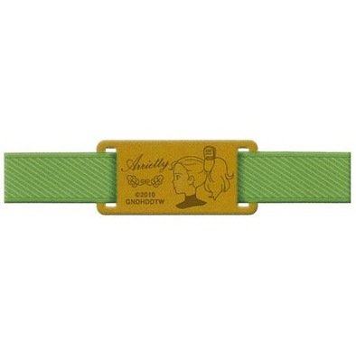 Rubber Band for Schedule / Calendar Book & Bookmarker - Leather - Arrietty - Ghibli - 2010 (new)