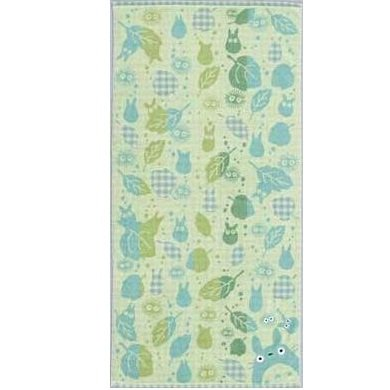 Bath Towel - asatuyu - green - Totoro - Ghibli - 2007 (new)