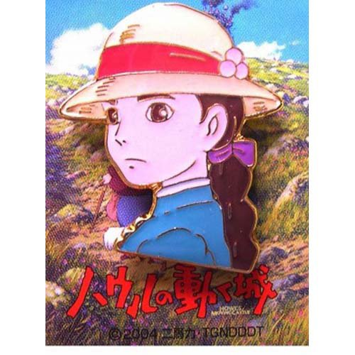 1 left - Pin Badge - Sophie - Howl's Moving Castle - Ghibli - out of production (new)
