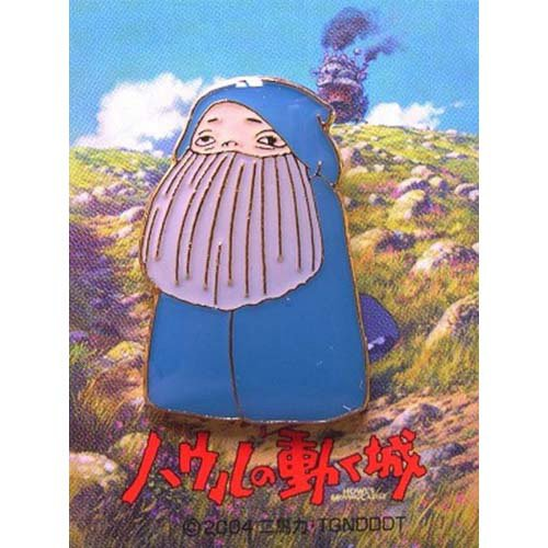 3 left - Pin Badge - Transformed Markl - Howl's Moving Castle - Ghibli - no production (new)