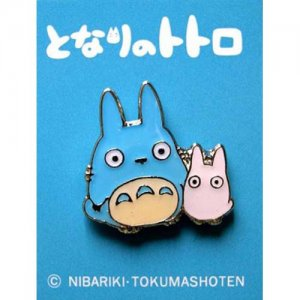 Pin Badge - Chu Totoro &amp; Sho Totoro - Ghibli (new)