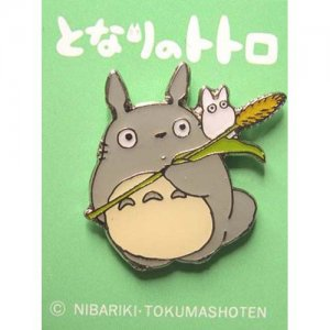 Pin Badge - Totoro & Sho Totoro - Ghibli (new)