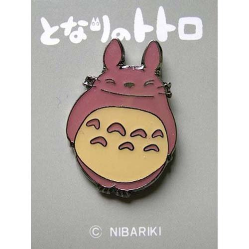 Pin Badge - Pink - Totoro - Ghibli - no production (new)