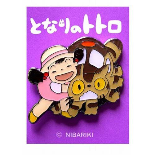 Pin Badge - Konekobus & Mei - Totoro - Ghibli (new)