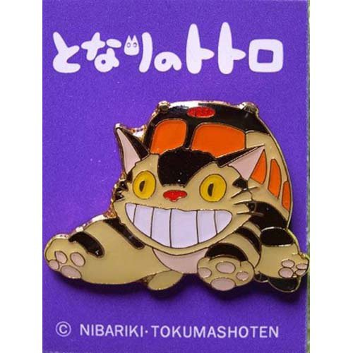 Pin Badge - Nekobus - run - Totoro - Ghibli (new)