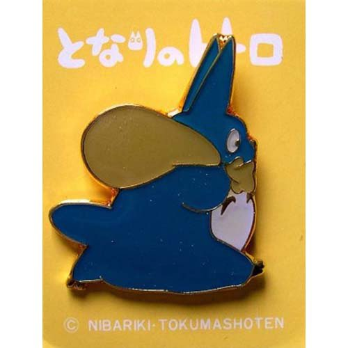 SOLD - Pin Badge - Chu Totoro - run - Totoro - Ghibli - no production (new)