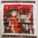 2 left - Wash Towel -35x36cm- made in Japan - Spirited Away - Ghibli -out of production (new)