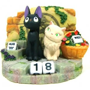 All Year Calendar - Jiji &amp; Lily - Kiki&#039;s Delivery Service - Ghibli - 2010 (new)