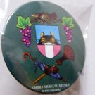 1 left - Tin Badge (M) - Totoro - green - Mitaka Ghibli Museum (new)