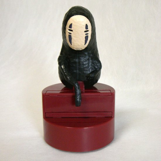SOLD - Toothpick Picker with Sound - Kaonashi - Spirited Away - 2008 - out of production (new)