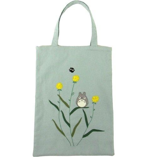 Tote Bag - Applique & Embroidery - Totoro & Kurosuke - Ghibli - 2011 - no production (new)