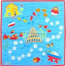 Handkerchief - 43x43cm - made in Japan - Ponyo - Ghibli - 2011 (new)