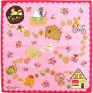 Handkerchief - 43x43cm - Jiji & Lily - Kiki's Delivery Service - Ghibli - 2011 (new)