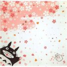 1 left- Big Cloth / Furoshiki -95x95cm- made in Japan- Totoro & Sho & Kurosuke -no production (new)
