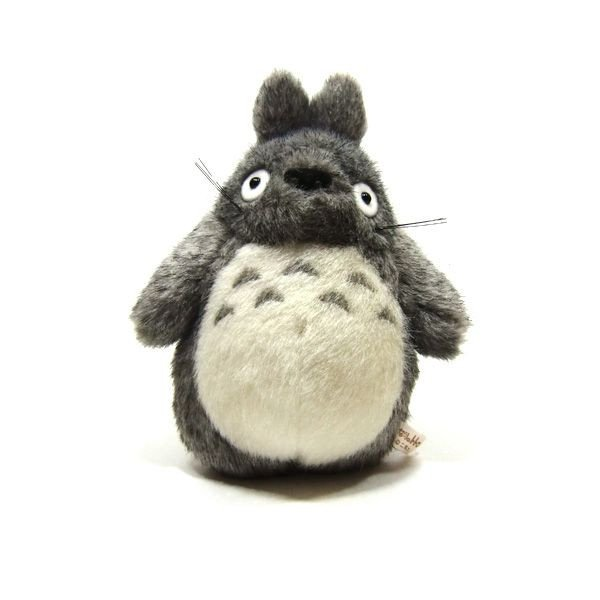 Plush Doll (S) - H18cm - dark gray - Totoro - Ghibli - Sun Arrow (new)