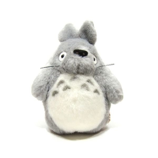 Plush Doll (S) - H18cm - gray - Totoro - Ghibli - Sun Arrow (new)