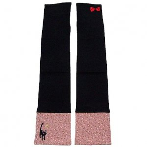 Arm Cover - 46cm - Jiji Embroidered - Kiki's Delivery Service - Ghibli - 2011 (new)