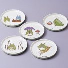 1 left - 5 Coaster Set - Melamine - Noritake - Made in Japan - Totoro - no production - RARE (new)