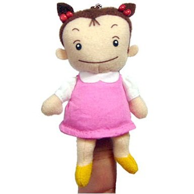 Finger Doll - Mascot - Chain Strap - Mei - Totoro - Ghibli - 2011 - no production (new)