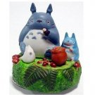 Music Box Orgel - Rotary - Porcelain - oshokuji -  Totoro & Chu & Sho - out of production (new)