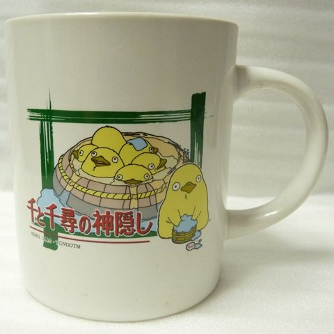 SOLD- Mug Cup - Ootori sama - Nestle - Spirited Away -out production (new)
