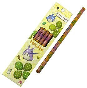 SOLD - 6 Pencil in Case Set - 2B - 2008 - out of production (new)