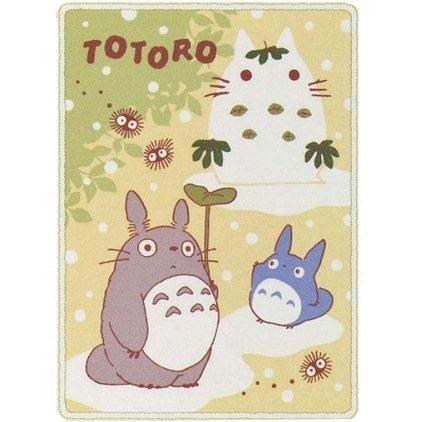 Blanket (M) - 100x140cm - Polyester & Microfiber - snow - Totoro - 2011 (new)