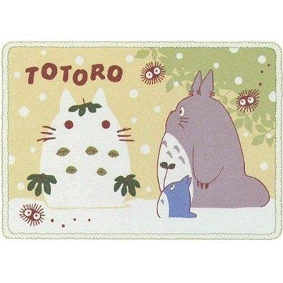 Blanket (S) - 70x100cm - Polyester & Microfiber - snow - Totoro - 2011 (new)