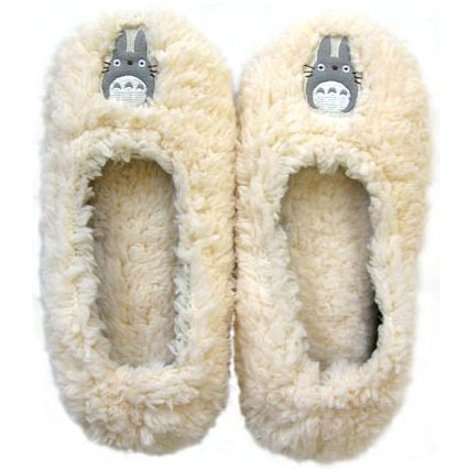 Room Shoes - Fluffy - Totoro - Ghibli - 2011 (new)