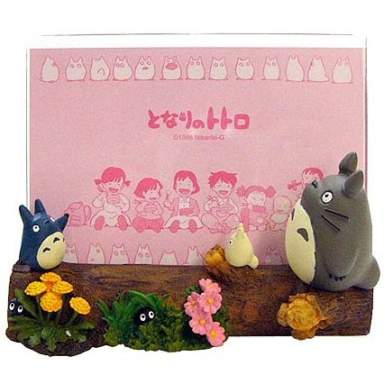 Photo Frame - spring - Totoro & Chu & Sho & Kurosuke - Ghibli - 2011 - no production (new)