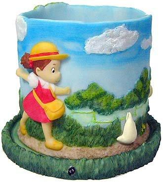 Planter Pot & Water Tray - Chu & Sho Totoro & Mei & Kurosuke - Ghibli - out of production (new)