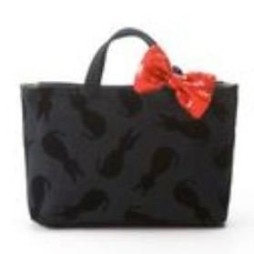 Tote Bag (S) - Ribbon Rubber Band - Jiji - Kiki's Delivery Service - Ghibli - 2010 (new)