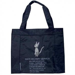 Tote Bag (M) - Jiji Embroidered - Kiki's Delivery Service - out of production (new)