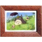 1 left- 80 pieces Jigsaw Puzzle & Frame - Totoro & Sho & Mei Satsuki - Ghibli - no production (new)