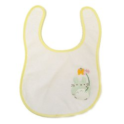 Baby Bib - Totoro & Butterfly - Embriodery - Ghibli - Sun Arrow (new)