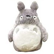 Fluffy Plush Doll (S) - H23cm - Totoro - Ghibli - Sun Arrow - 2009 (new)